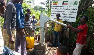 Directaid Water Projects Ethiopia Well Q8ping followers 1