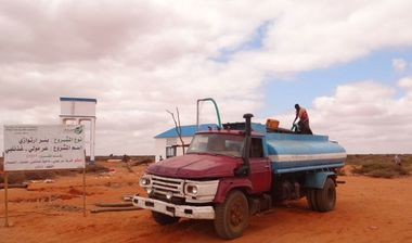 Directaid Water Projects Large artesian well - 2 1