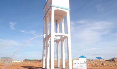 Directaid Water Projects Large artesian wells - Somalia 1