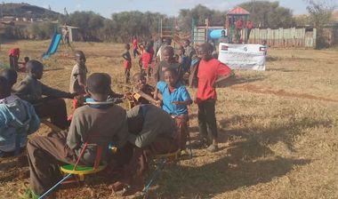 Directaid مشاريع التنمية Playgrounds for Marsabit Orphans 1