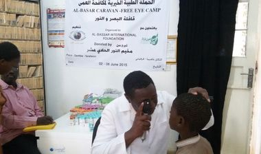 Directaid Eye Projects eye camp - 11 1