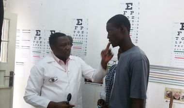 Directaid Eye Projects eye camp - 11 2