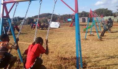 Directaid development Playgrounds for Marsabit Orphans 2