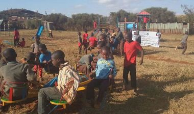 Directaid مشاريع التنمية Playgrounds for Marsabit Orphans 5