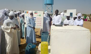 Directaid Water Projects Al-Madinah artesian well - Chad 3
