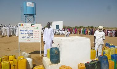 Directaid مشاريع المياه Al-Madinah artesian well - Chad 5