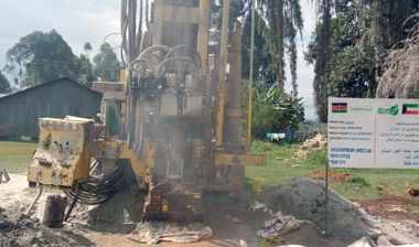 Directaid Water Projects Large Artesian Well - Kenya - Katale 4