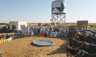 Directaid Water Projects Al-Oun Well 4