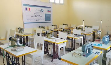 Directaid مشاريع التنمية Sewing Center - 1 5