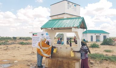Directaid Water Projects Large artesian well - 3 - Masmoga 7
