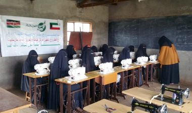 Directaid International Day for the Skills of Young People Projects sewing and embroidery center 5