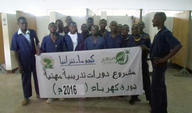 Directaid International Day for the Skills of Young People Projects Training courses for older orphans 2