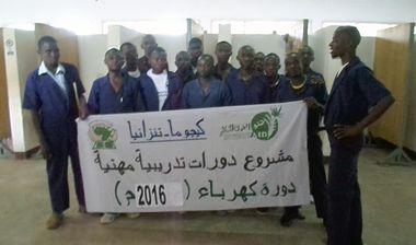 Directaid مشاريع اليوم العالمي لمهارات الشباب. Training courses for older orphans 2
