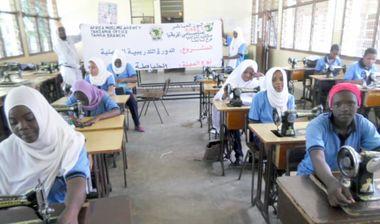 Directaid مشاريع اليوم العالمي لمهارات الشباب. Training courses for older orphans 3