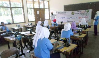 Directaid مشاريع اليوم العالمي لمهارات الشباب. Training courses for older orphans 4
