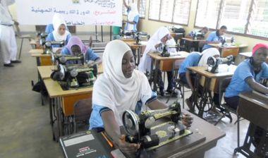Directaid مشاريع اليوم العالمي لمهارات الشباب. Training courses for older orphans 5