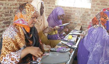Directaid مشاريع اليوم العالمي لمهارات الشباب. Training courses for older orphans 6
