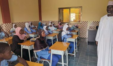 Directaid مشاريع كويت بنق Project of the last ten - night 26 - building Quran schools 20