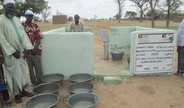 Directaid Water Projects Mali well 4 3