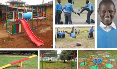 Directaid مشاريع التنمية Playgrounds for Kijyado orphans 1