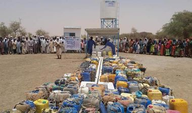 Directaid Water Projects Shawwal Well 4