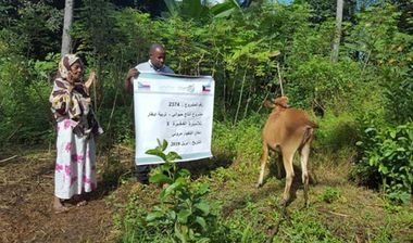 Directaid development Cows Project - Poor Family-3 1