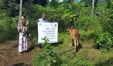 Directaid development Cows Project - Poor Family-3 2