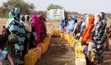 Directaid Water Projects Al-Farah Well Fourth 1