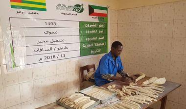 Directaid مشاريع التنمية Run a bakery - an orphanage 4