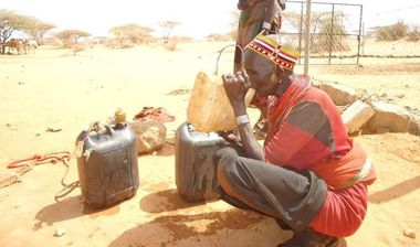 Directaid Water Projects Large Artesian Well - Kenya -Marsabit 6