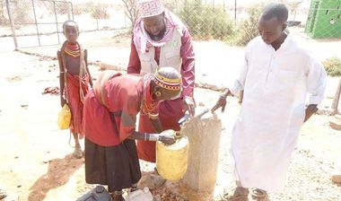 Directaid Water Projects Large Artesian Well - Kenya -Marsabit 7