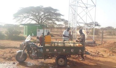 Directaid Water Projects Large Artesian Well - Kenya -Marsabit 9