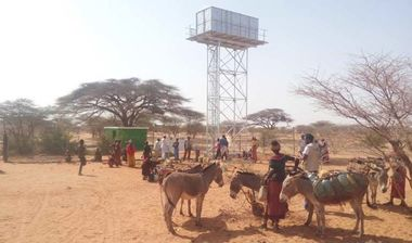 Directaid Water Projects Large Artesian Well - Kenya -Marsabit 10