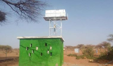 Directaid Water Projects Large Artesian Well - Kenya -Marsabit 13