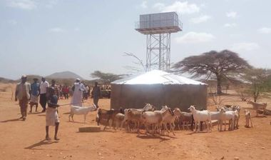 Directaid Water Projects Large Artesian Well - Kenya -Marsabit 1