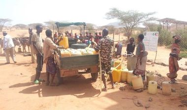 Directaid Water Projects Large Artesian Well - Kenya -Marsabit 2