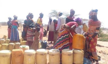 Directaid Water Projects Large Artesian Well - Kenya -Marsabit 3