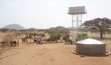 Directaid Water Projects Large Artesian Well - Kenya -Marsabit 4