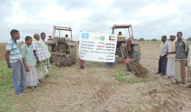 Directaid development Al-Duhaa Farm 2