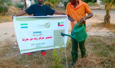 Directaid development Planting Zaid Bin Haritha Center 3