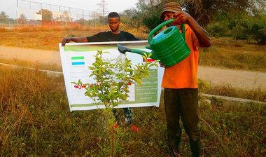 Directaid development Planting Zaid Bin Haritha Center 4
