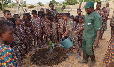 Directaid مشاريع التنمية Green Yard Project -2nd 3