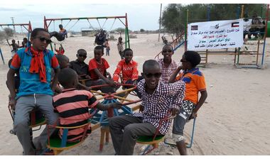 Directaid development Playgrounds for Eilwaq Orphans Center 2