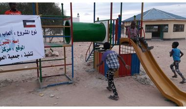 Directaid development Playgrounds for Eilwaq Orphans Center 5