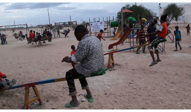 Directaid development Playgrounds for Eilwaq Orphans Center 6