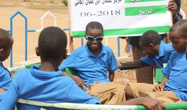Directaid development Playgrounds for Mali Orphans 11