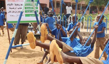 Directaid مشاريع التنمية Playgrounds for Mali Orphans 13