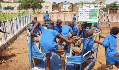 Directaid development Playgrounds for Mali Orphans 14