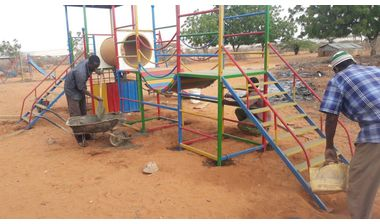 Directaid development Playgrounds for Ramo Orphans 1