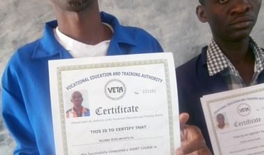 Directaid Education Training courses for older from orphans -3 1